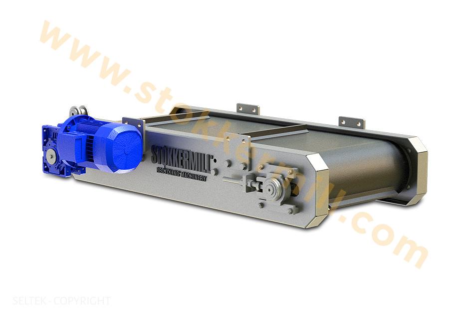 Separatori magnetici Over Belt per la separazione dei materiali ferrosi