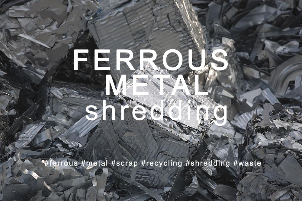 Broyage déchets fer et ferraille