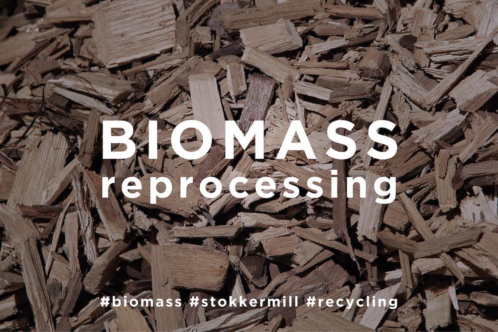 Biomass reprocessing