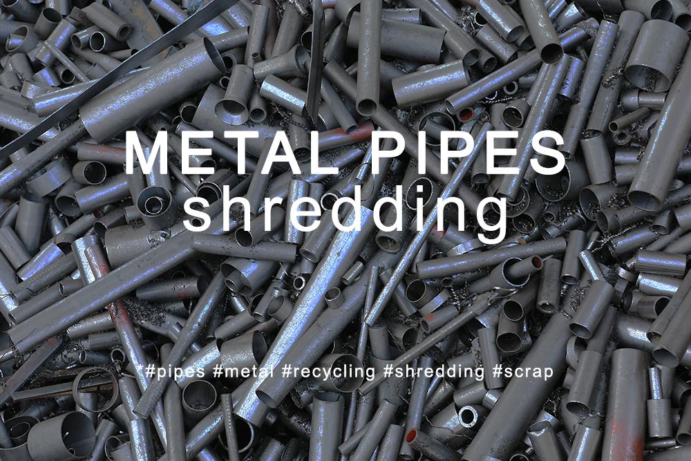 Broyeurs de tuyaux métalliques