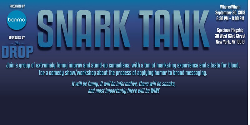 Bonmo Presents: Snark Tank