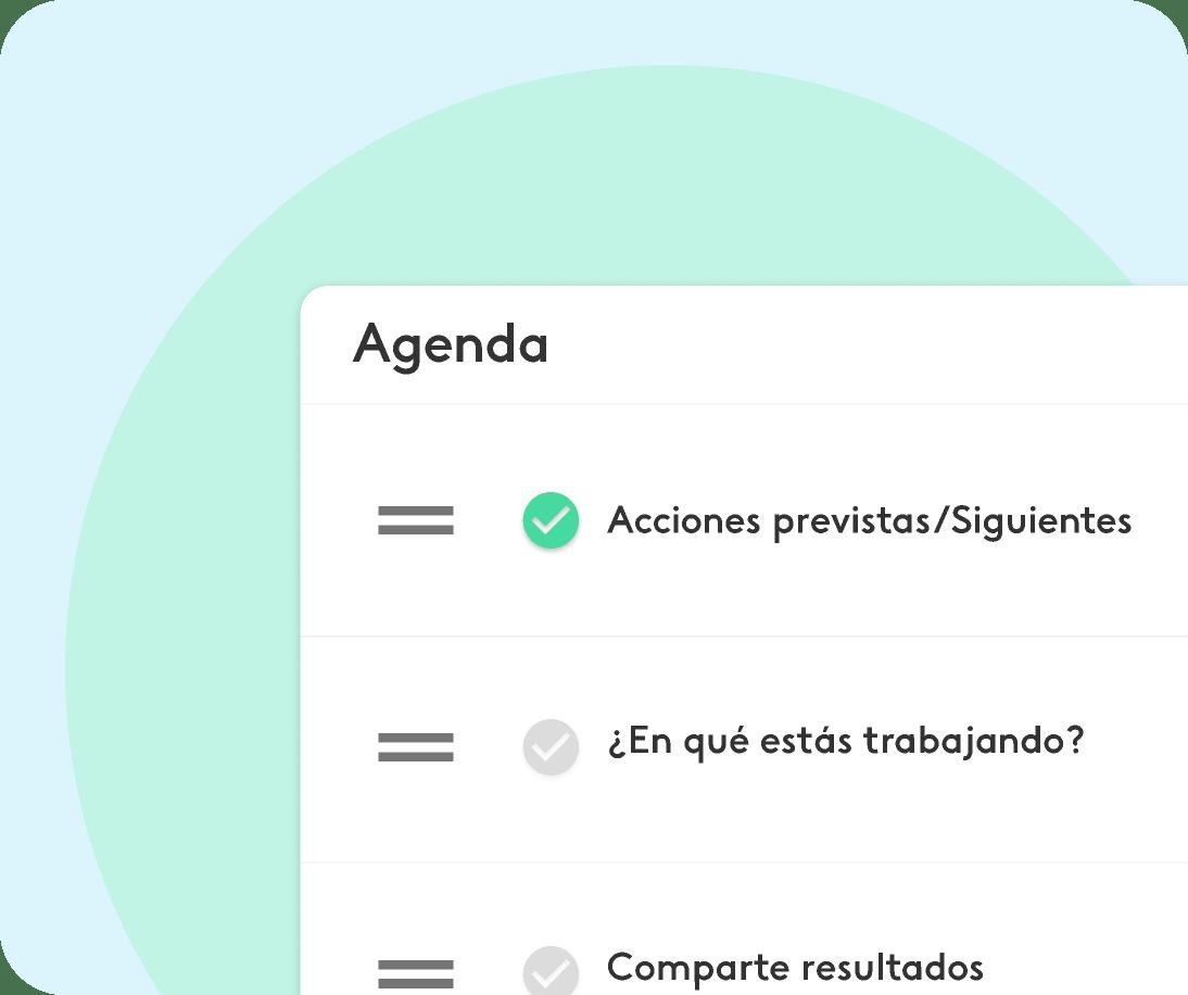 ejemplo de planificacion de reuniones de equipo