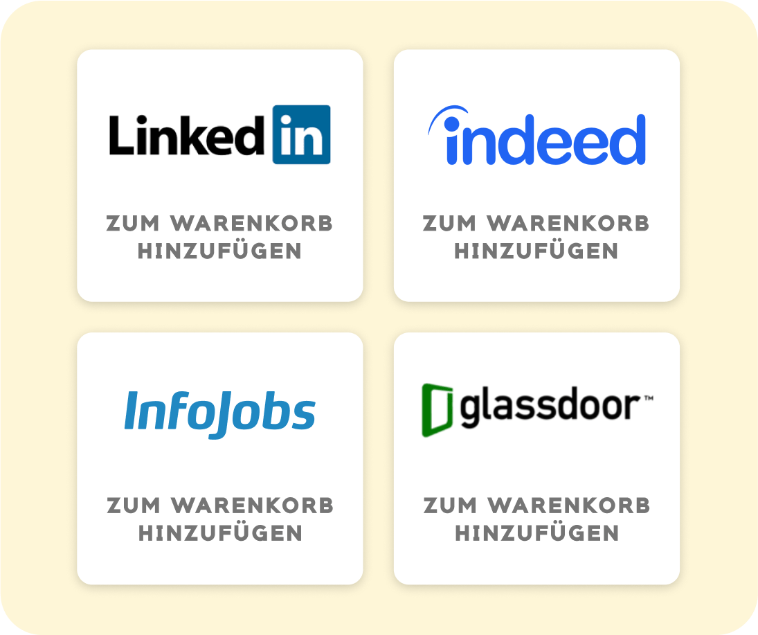 App zur Verwaltung von Jobportalen