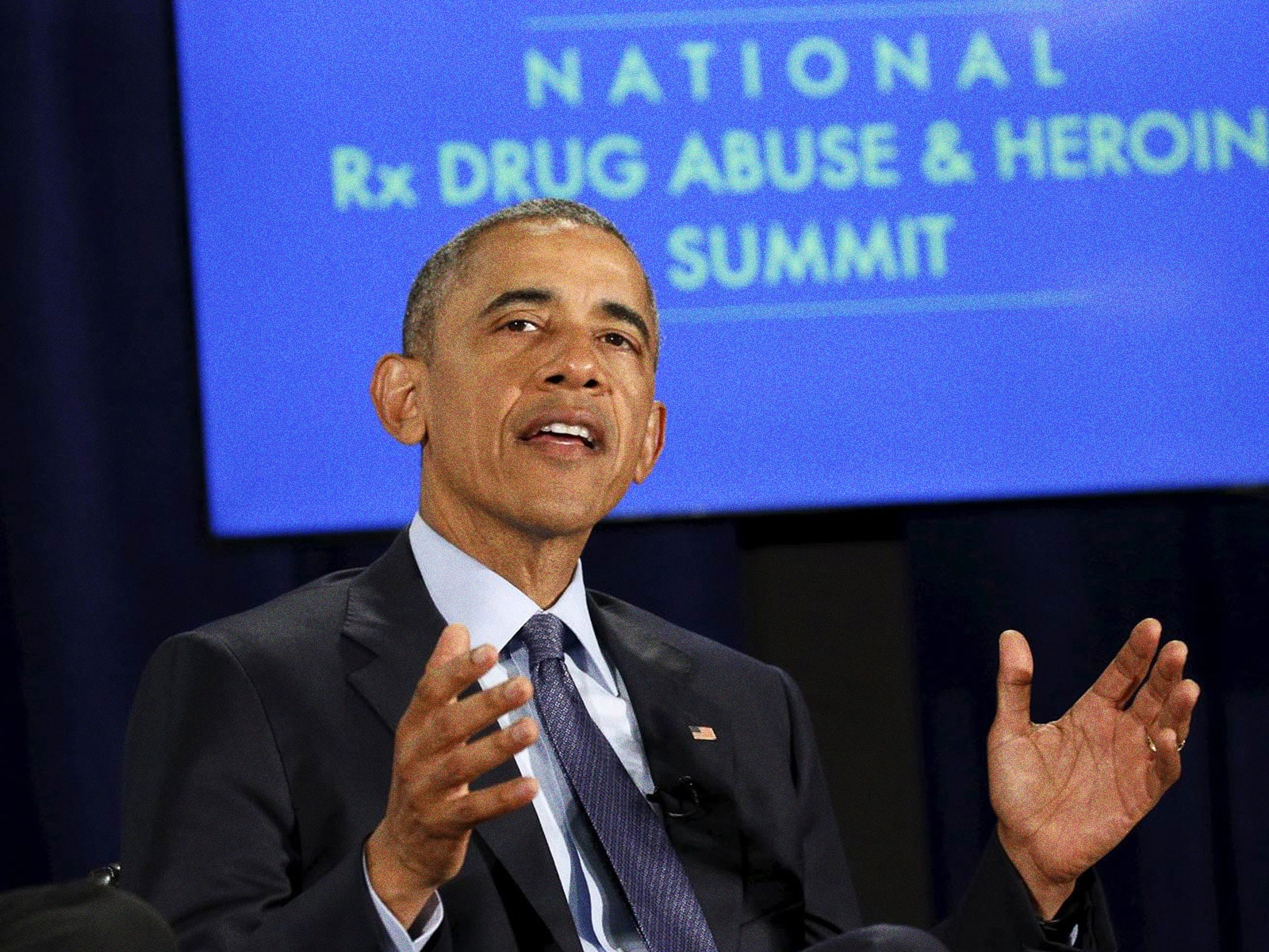 President Addresses Nation at Heroin - Freedom From Addiction