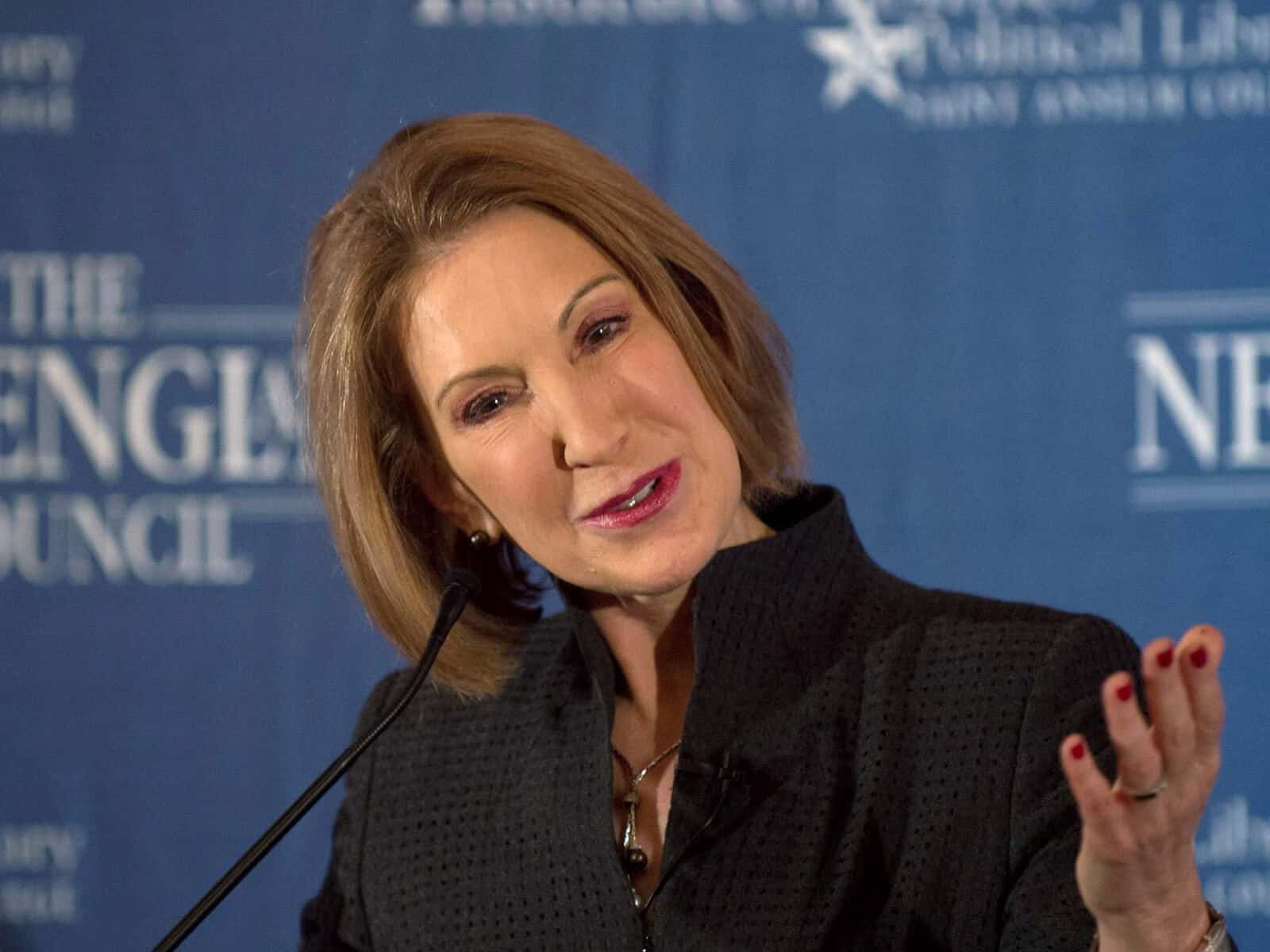 Carly Fiorina Speaks About Drug Abuse - Freedom From Addiction