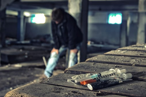 Heroin Needle - Freedom From Addiction