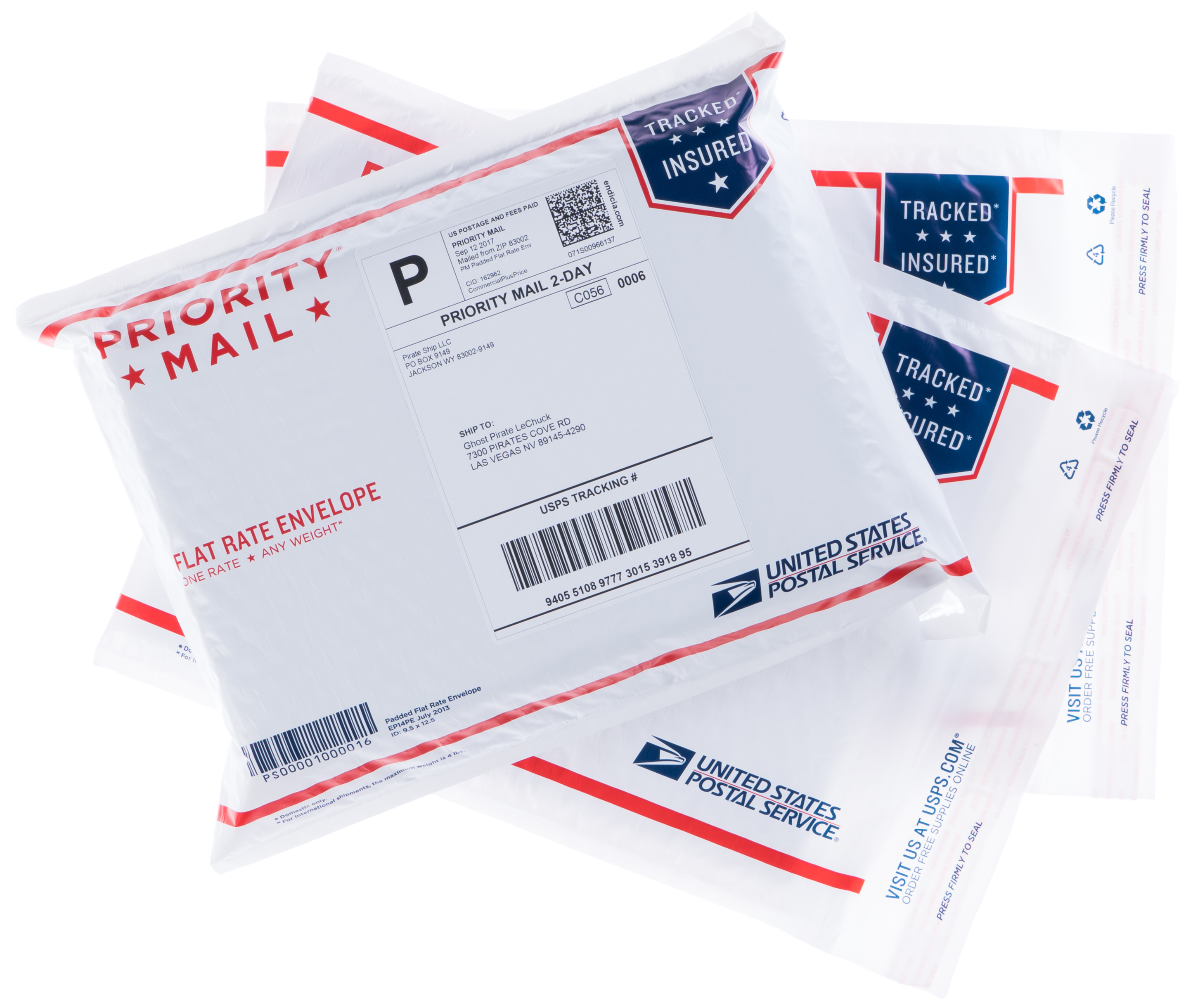 Priority Mail Padded Flat Rate Envelopes