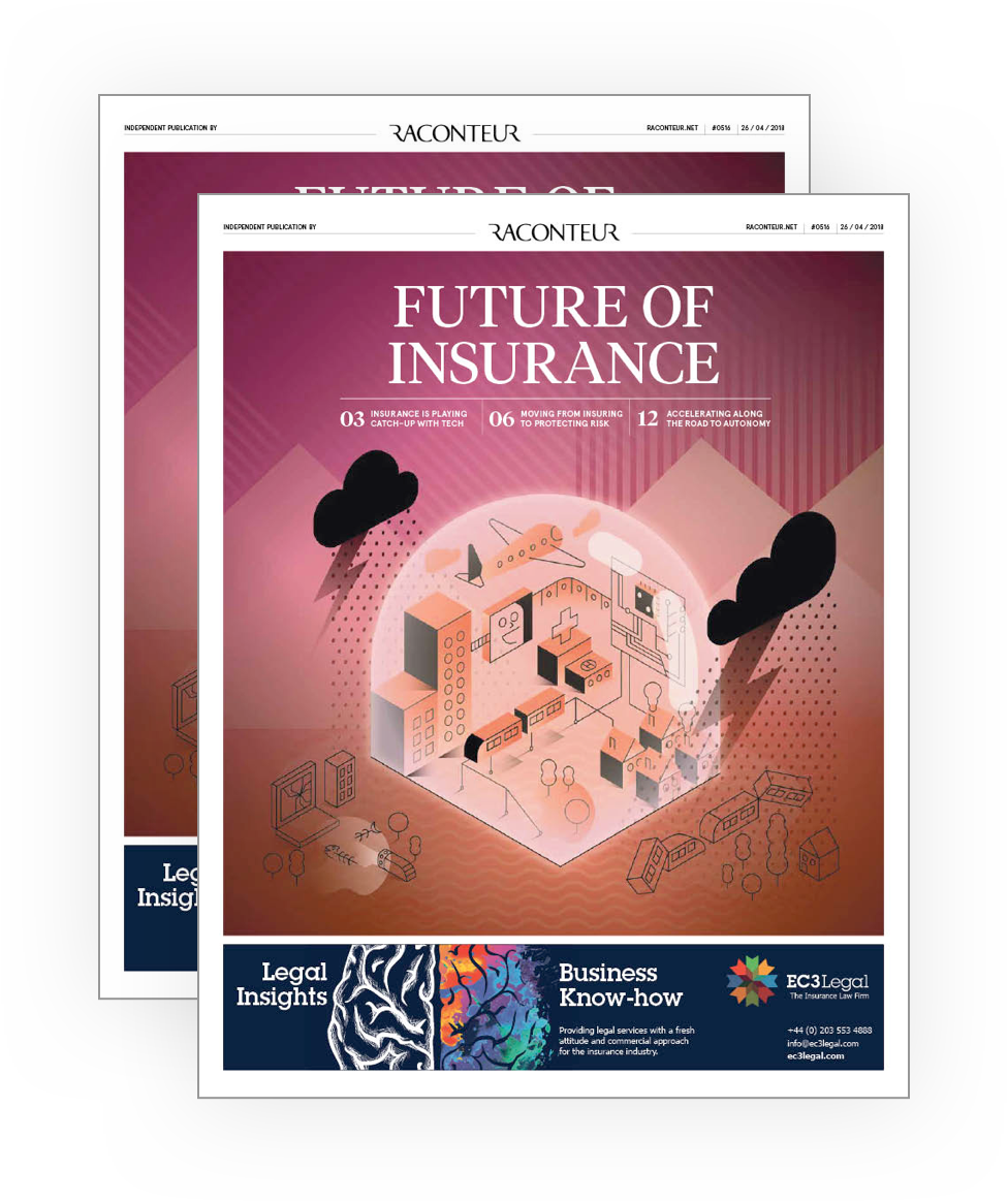 Future of Insurance Magazine Cover