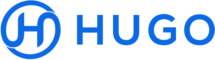 Hugo Logo - Blue