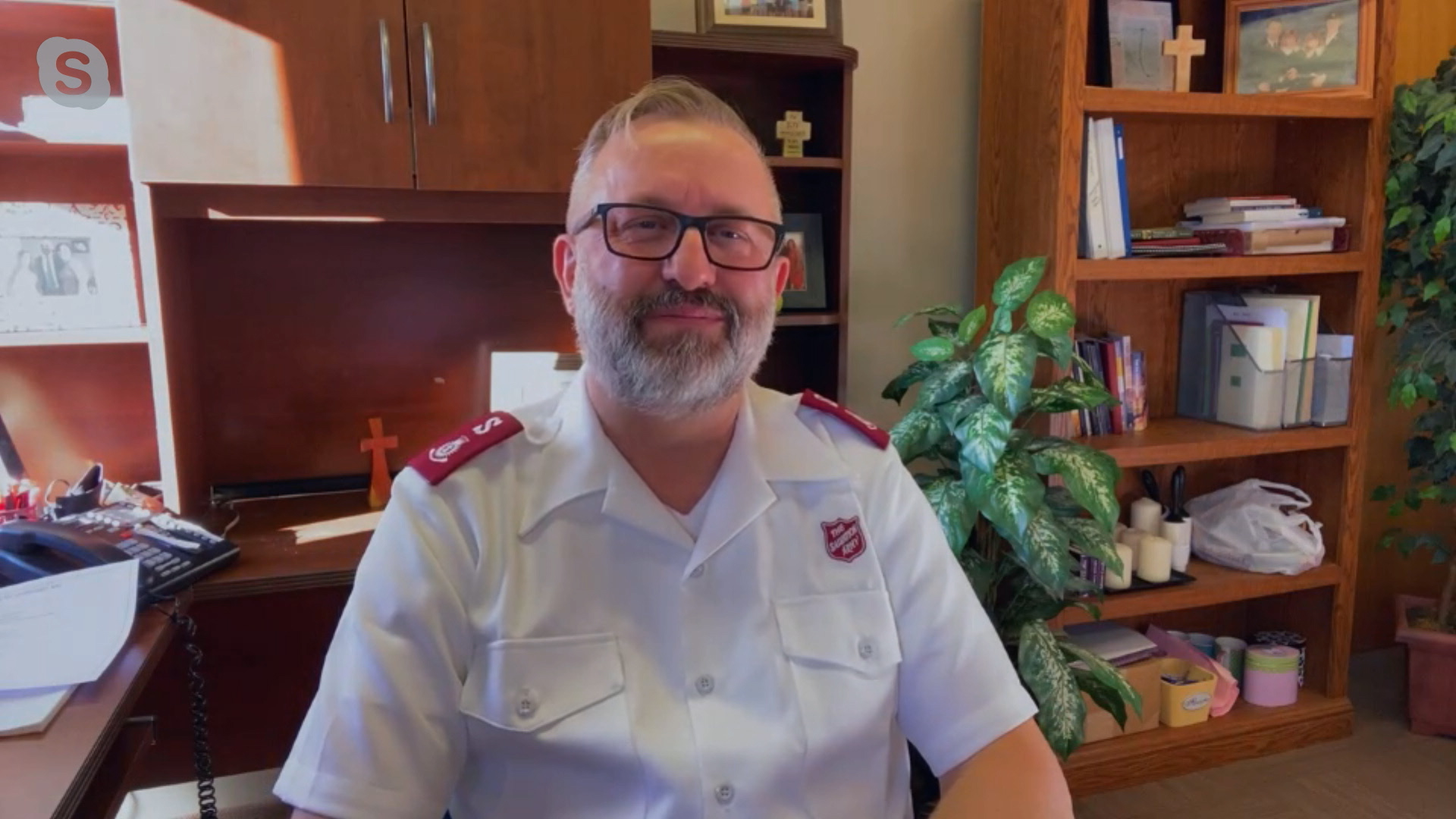 Salvation Army pastor talks recovery since house fire, and COVID pressure on their organization