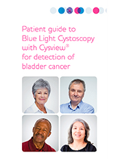Patient Guide to Blue Light Cystoscopy with Cysview® Document Thumbnail