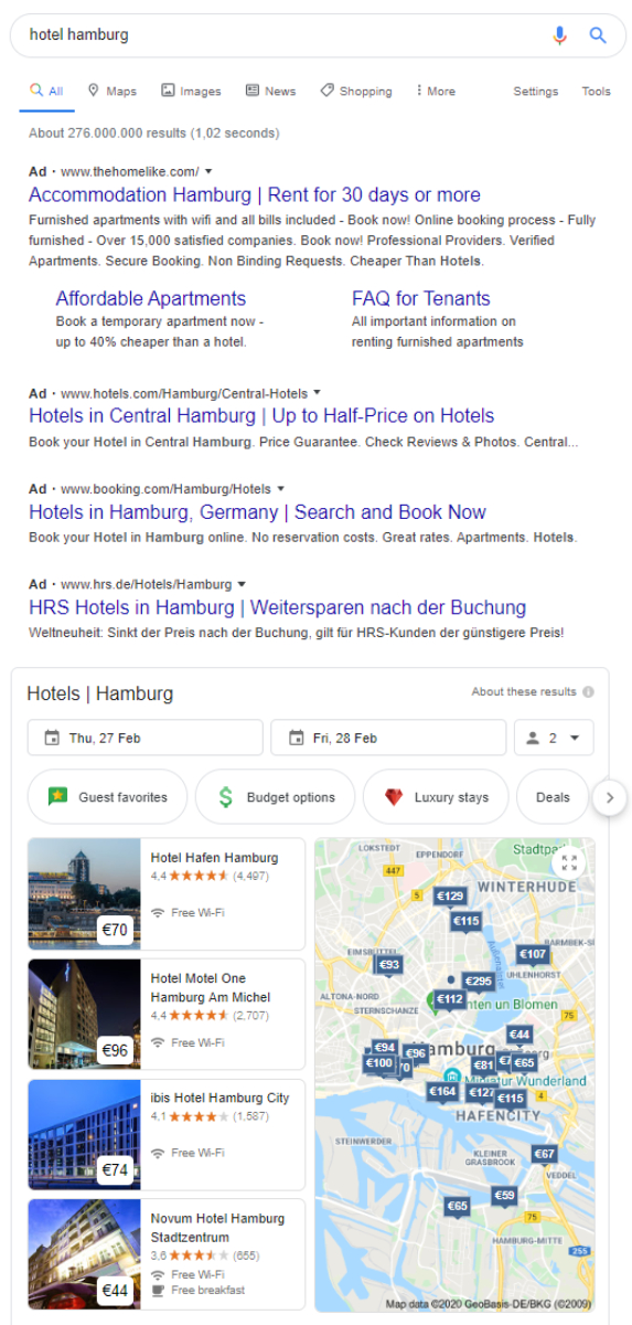 New Marketing Possibilities With Google Ads Hotel Ads Myhotelshop