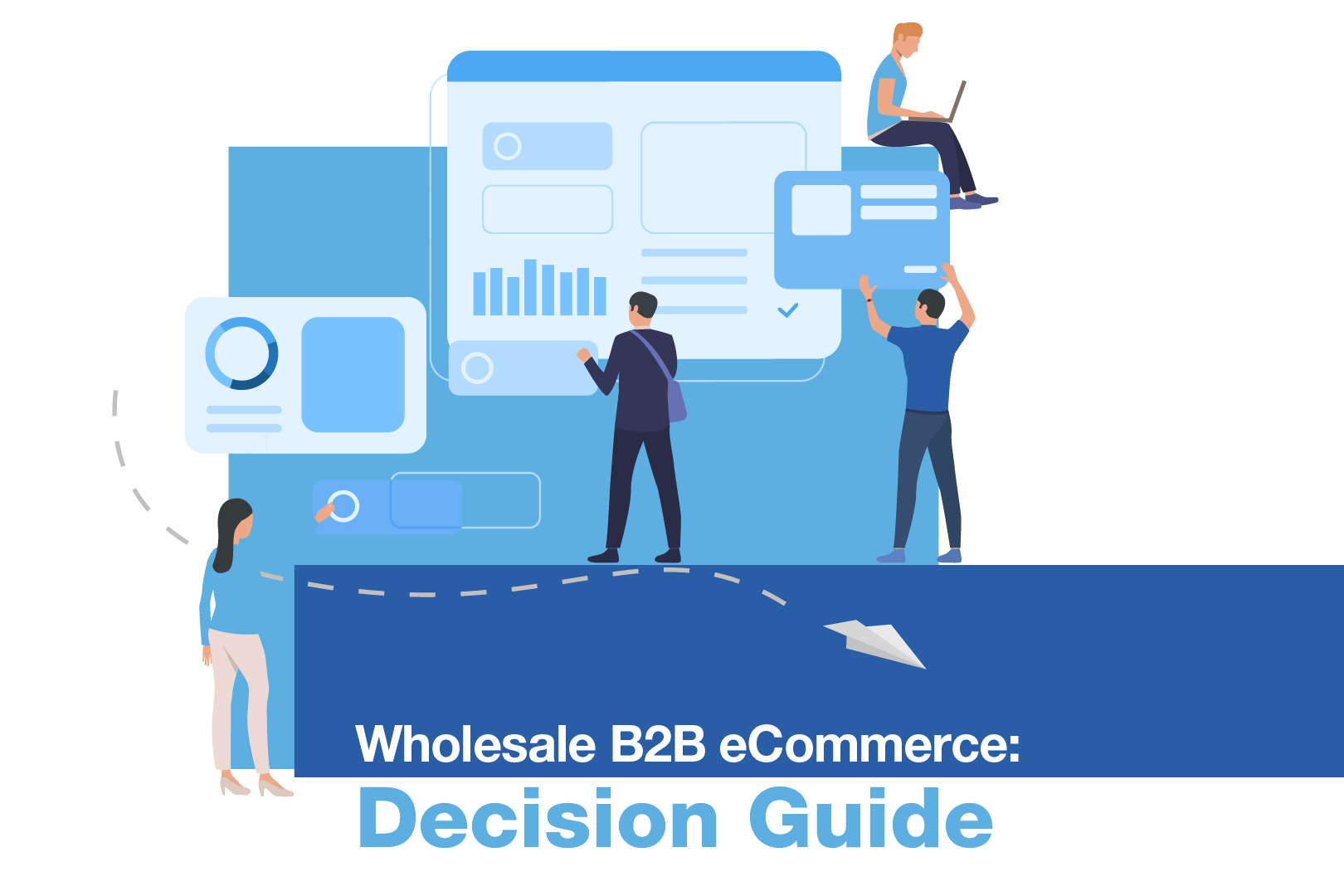 Cover of the Wholesale B2B eCommerce Decision Guide