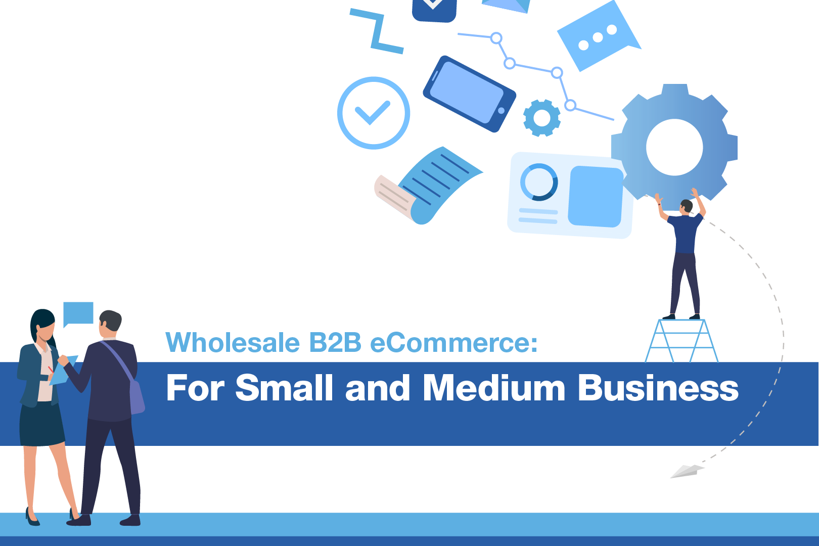 Cover of the Wholesale B2B eCommerce SMB