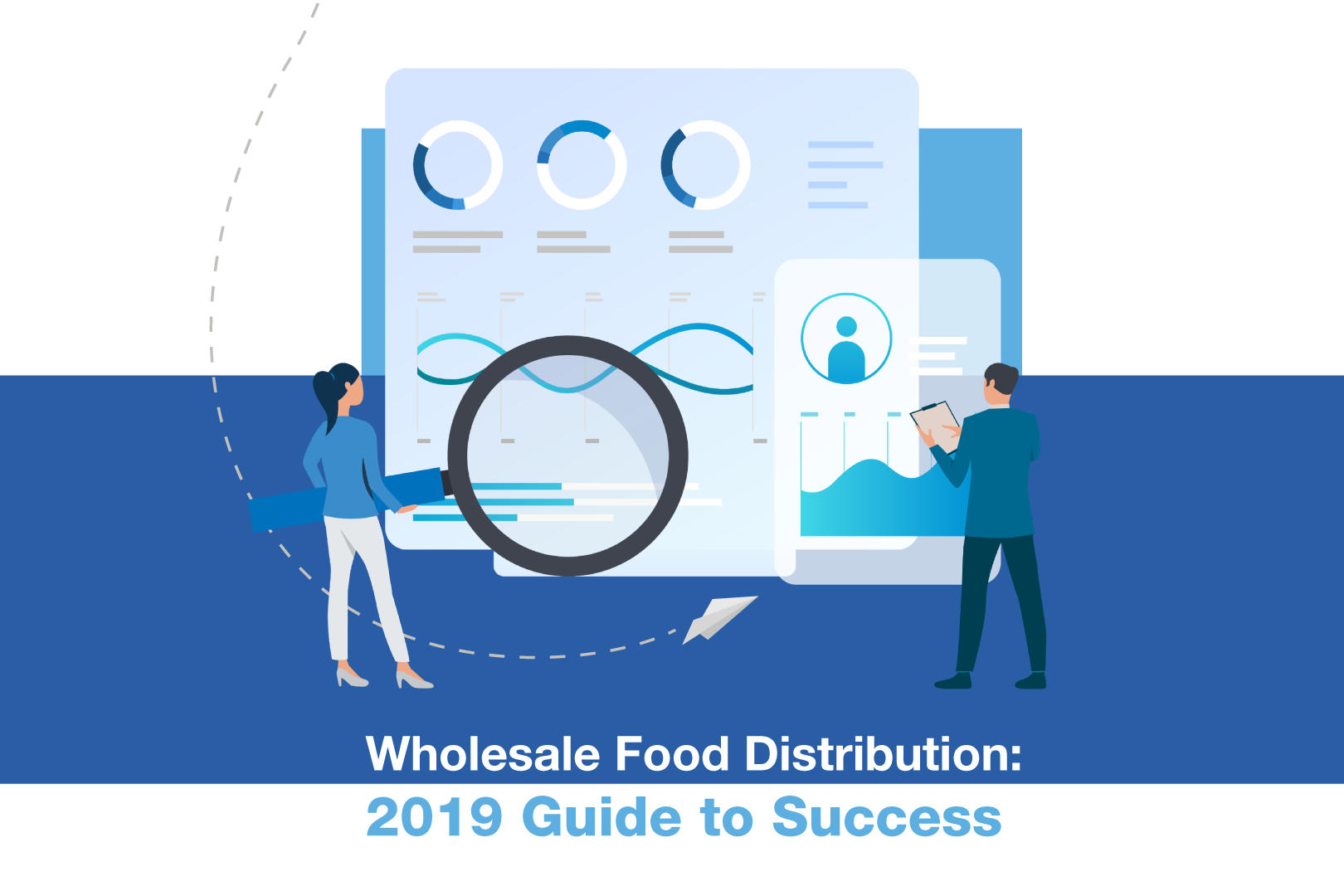 Cover of the Wholesale B2B eCommerce Guide to Success