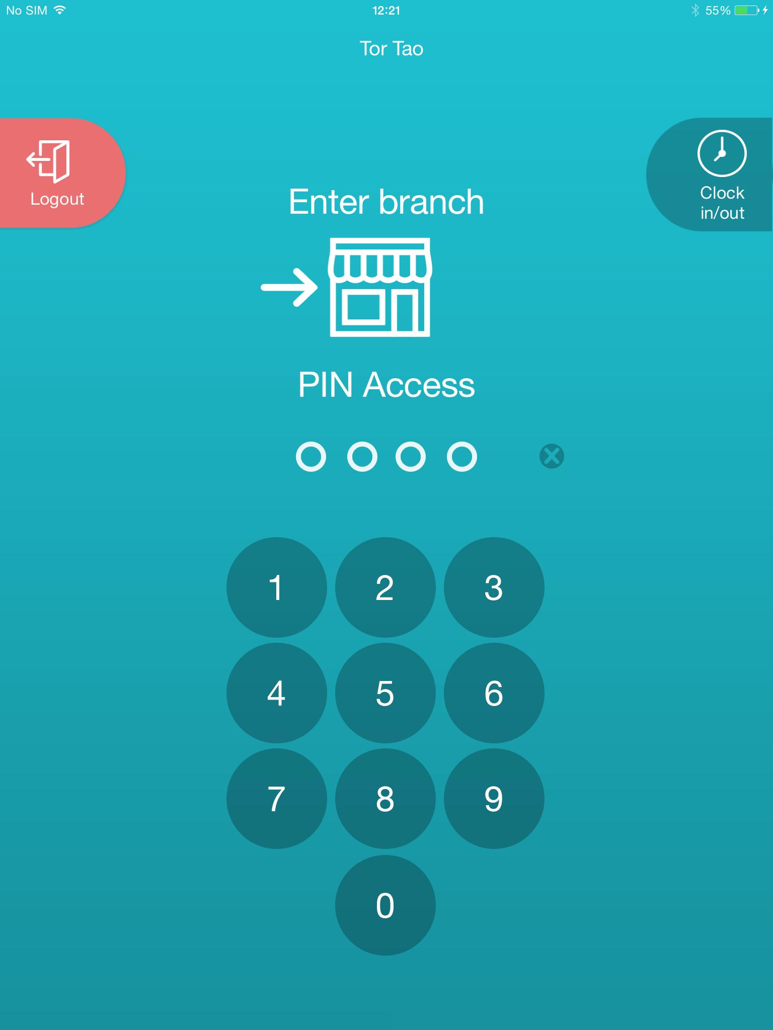 PIN Account - การเข้าถึง