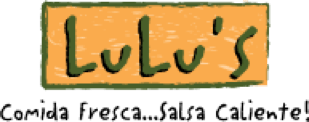 Lulu's Mexican Food Business Logo