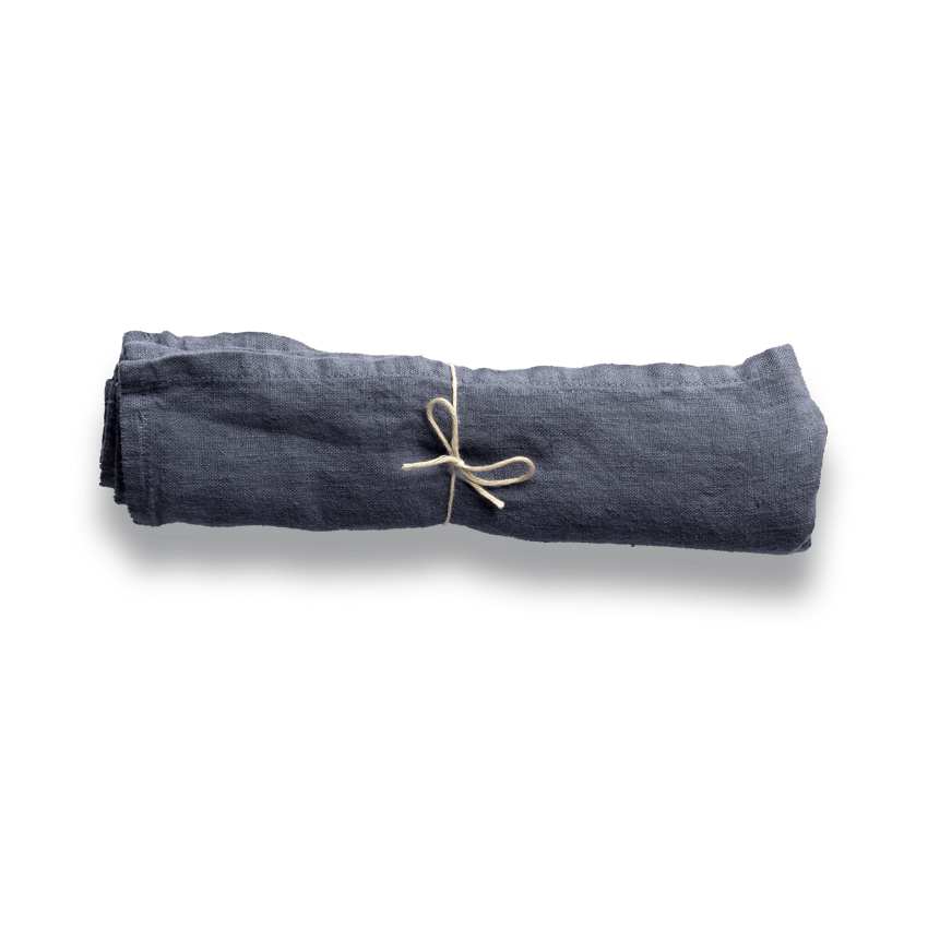 Dark grey cloth napkin