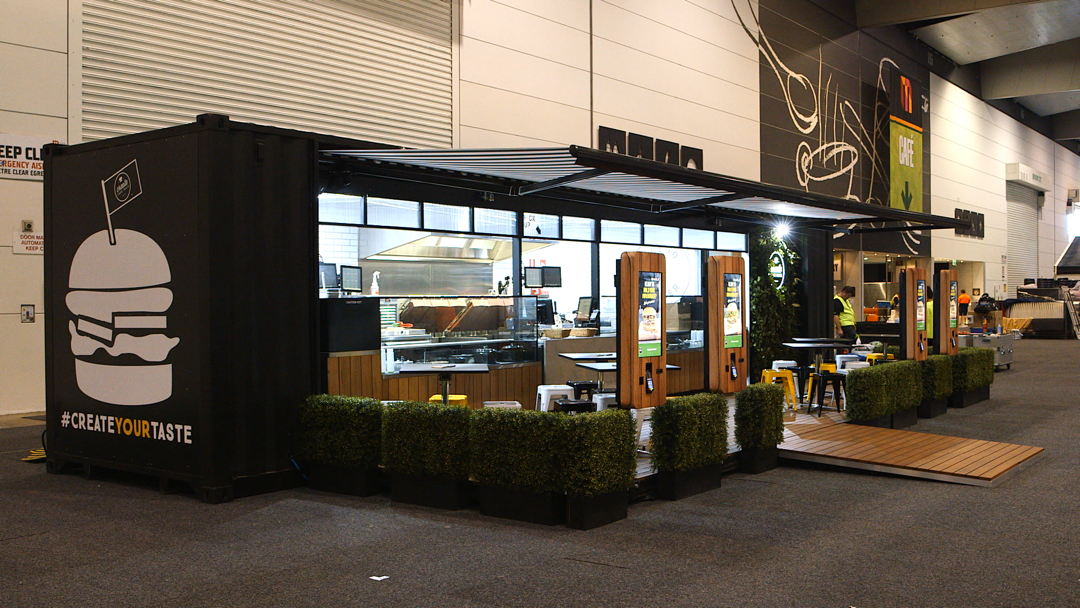 Example of a pop-up restaurant