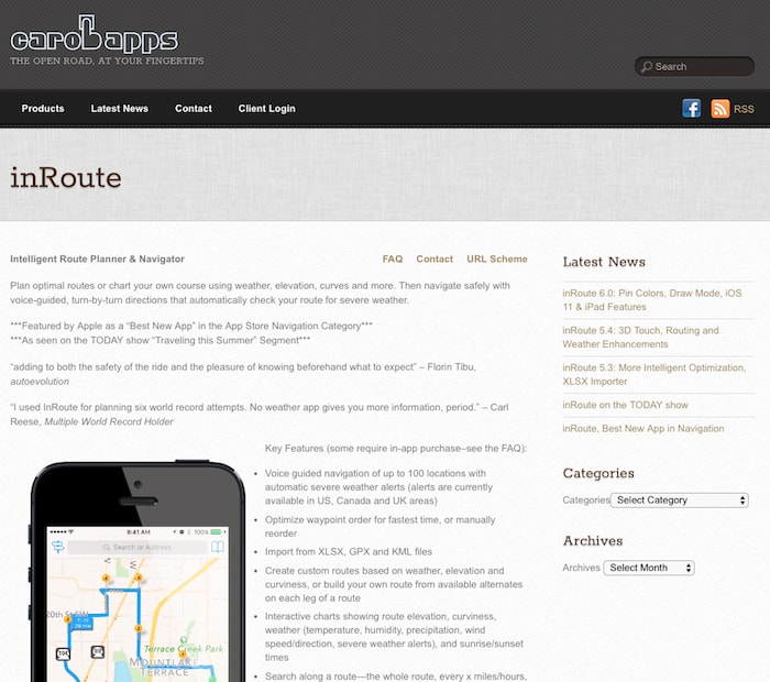 Local Route Planning Tool