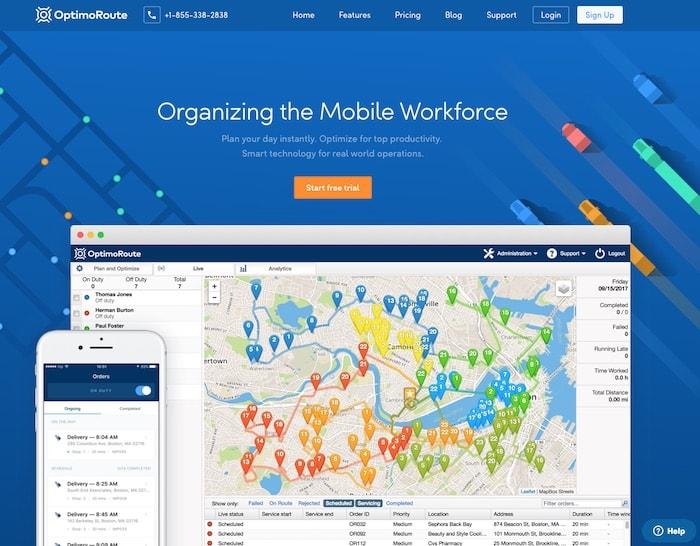 Mobile Workforce Tool
