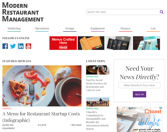 Restaurant Industry Blog