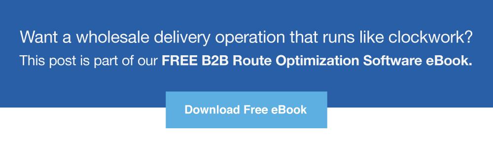 B2B Route Optimization Software