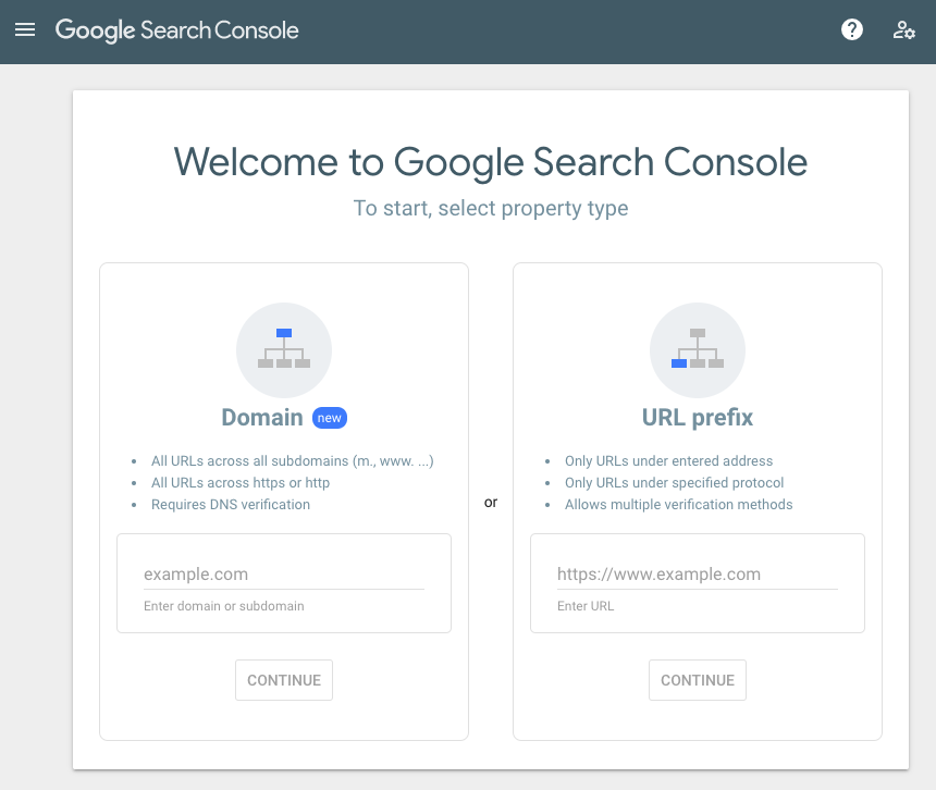 google search console ecommerce seo tool