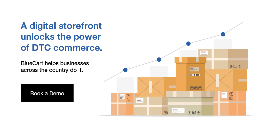 bluecart ecommerce demo