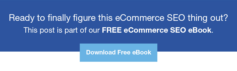 free ecommerce seo ebook