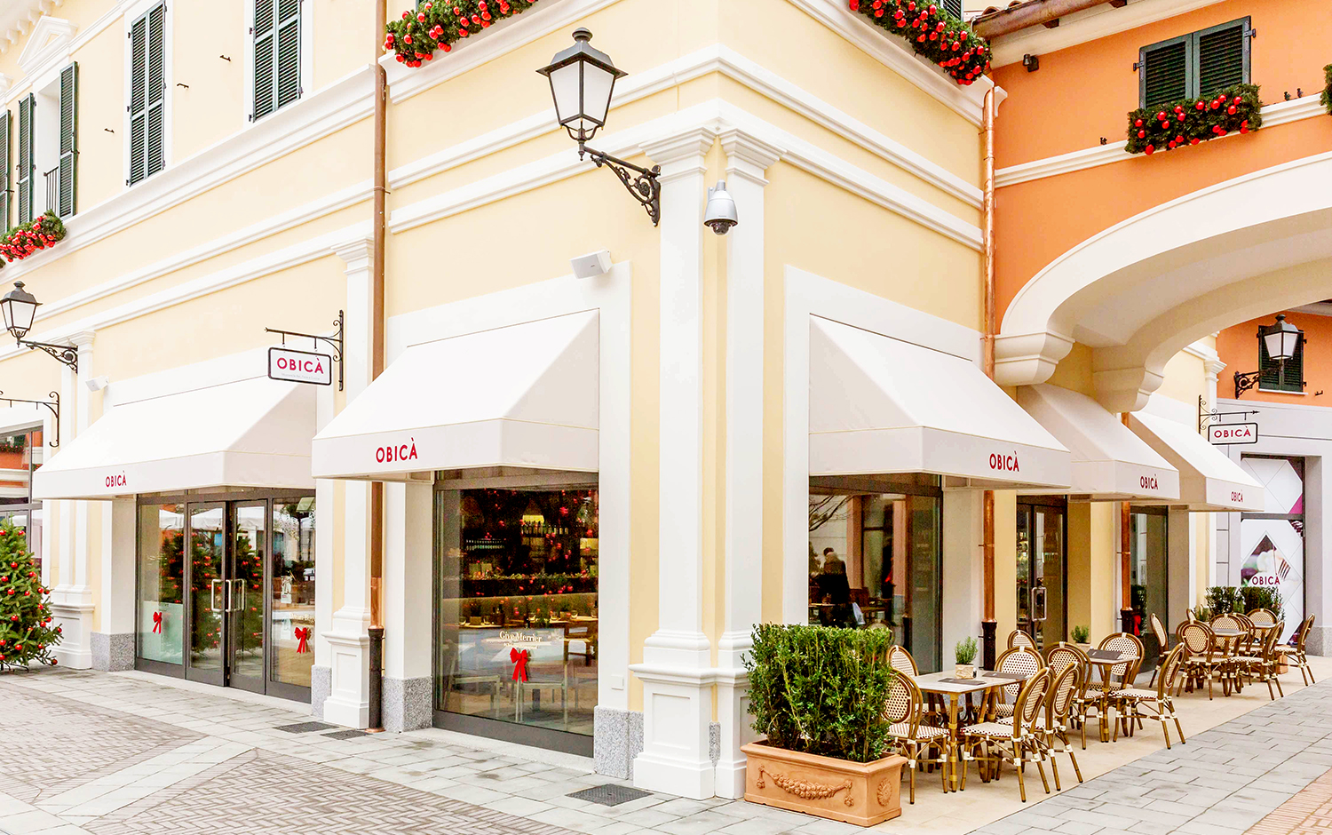 Obic mozzarella bar italian restaurant and pizzeria at for Serravalle designer outlet