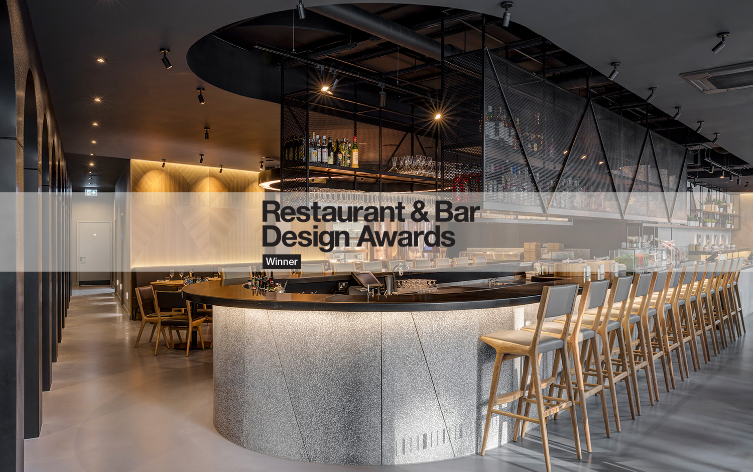Restaurant and bar design award obicà mozzarella