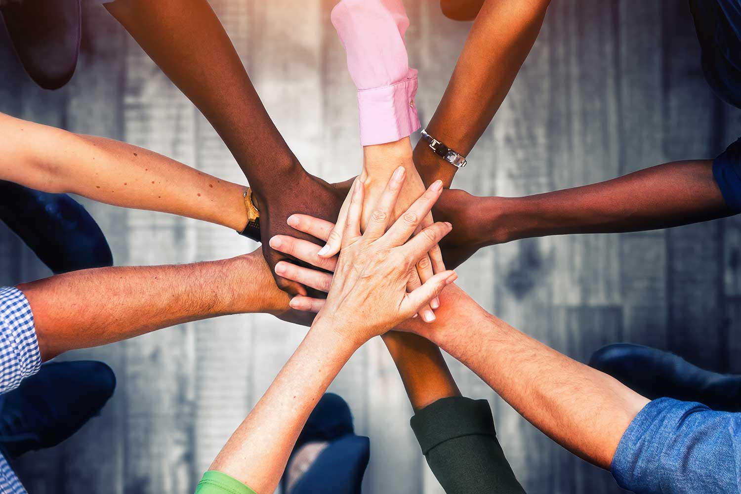 Image representing diversity, equity, inclusion and justice.
