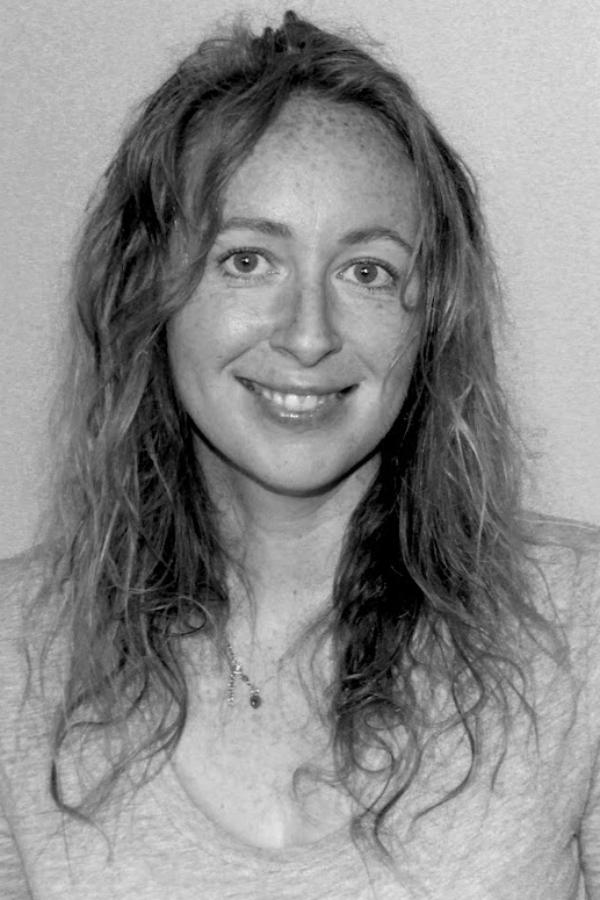 Black and white photo of author Christine Gosnay.