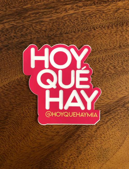 Stickers HoyQueHay