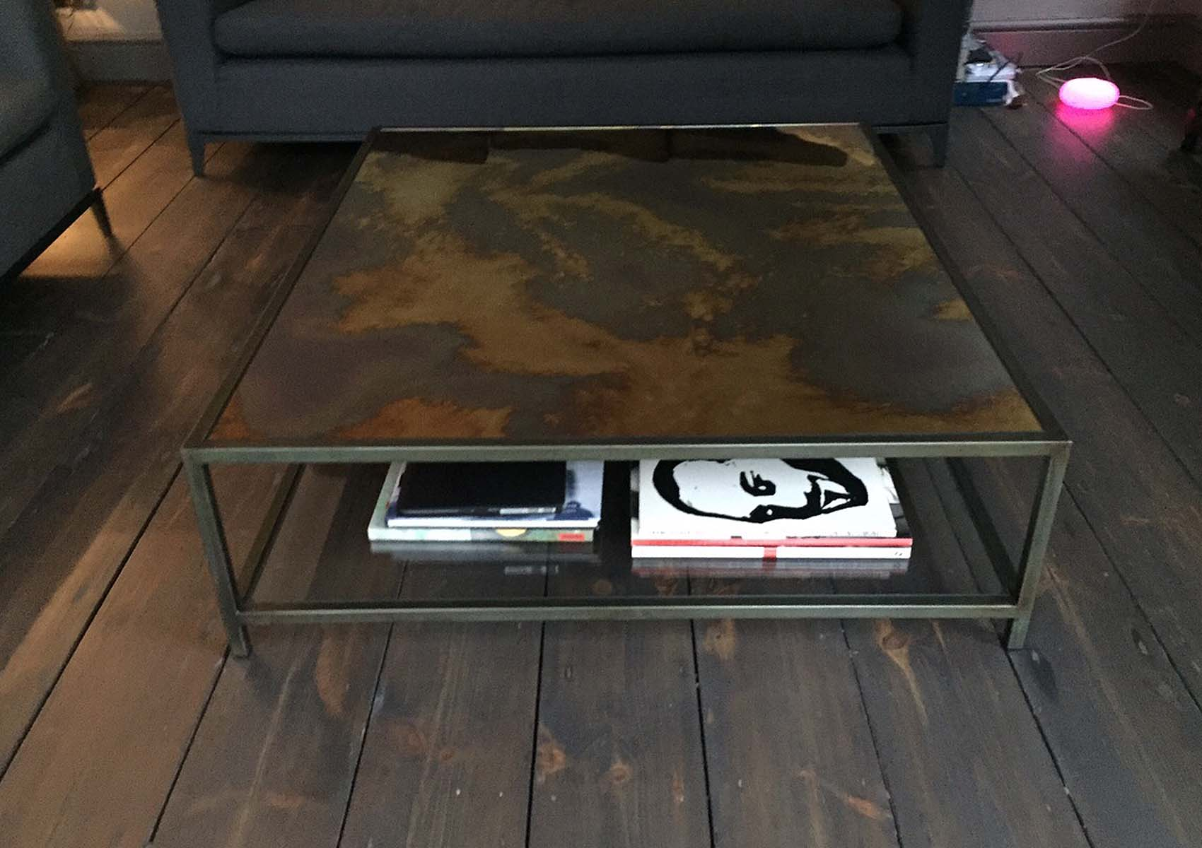 Byzantine antique coffee table