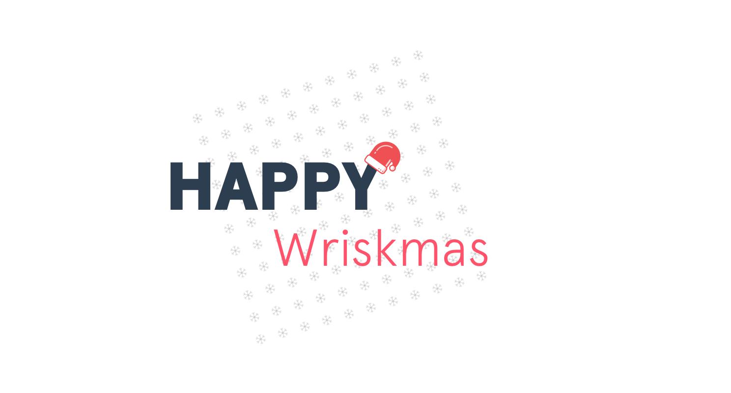 Happy Wriskmas