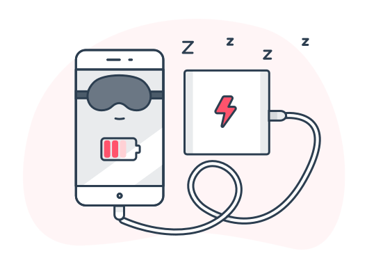 Phone charging image