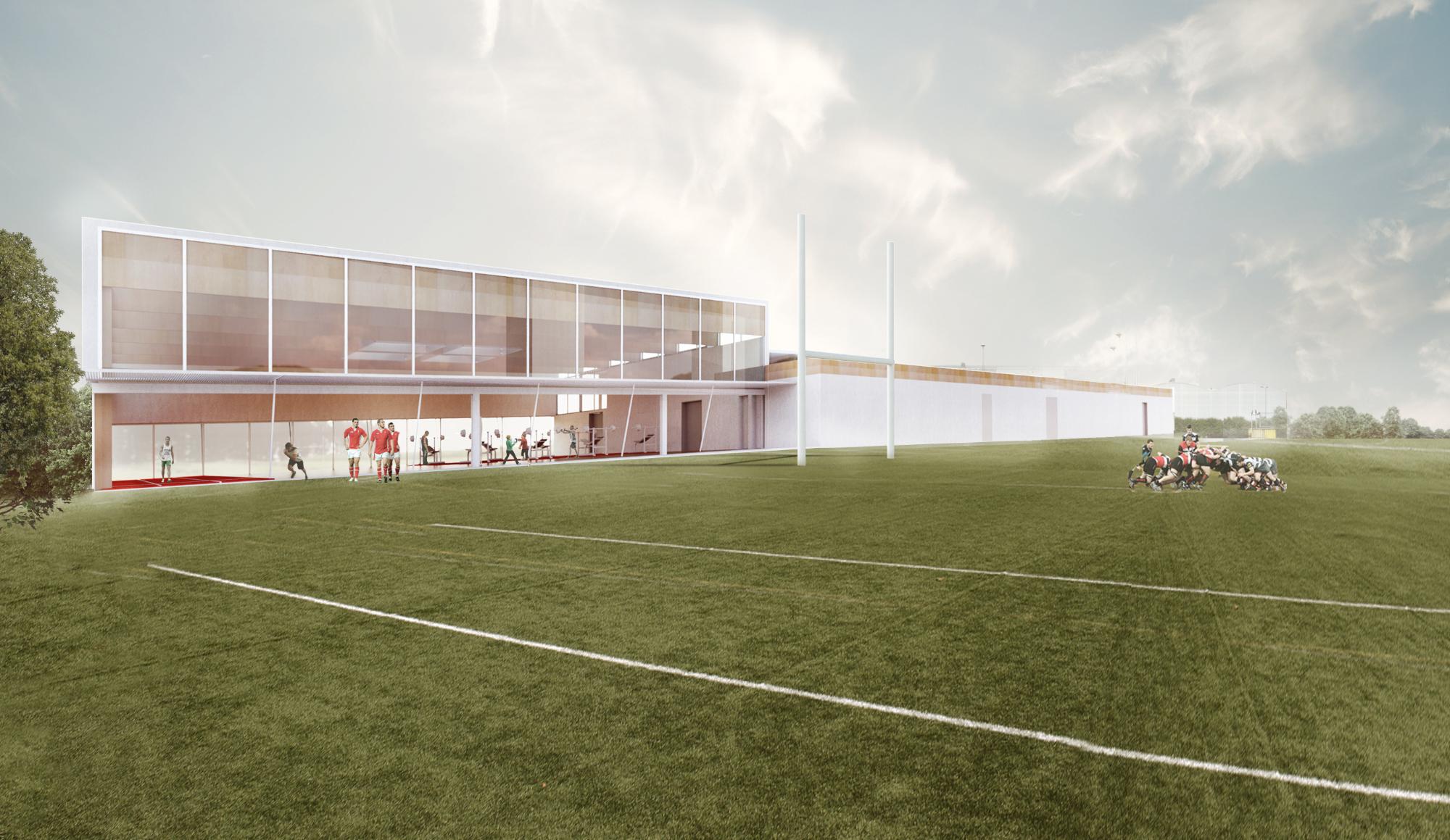 Sports Pavilion Aberdeen