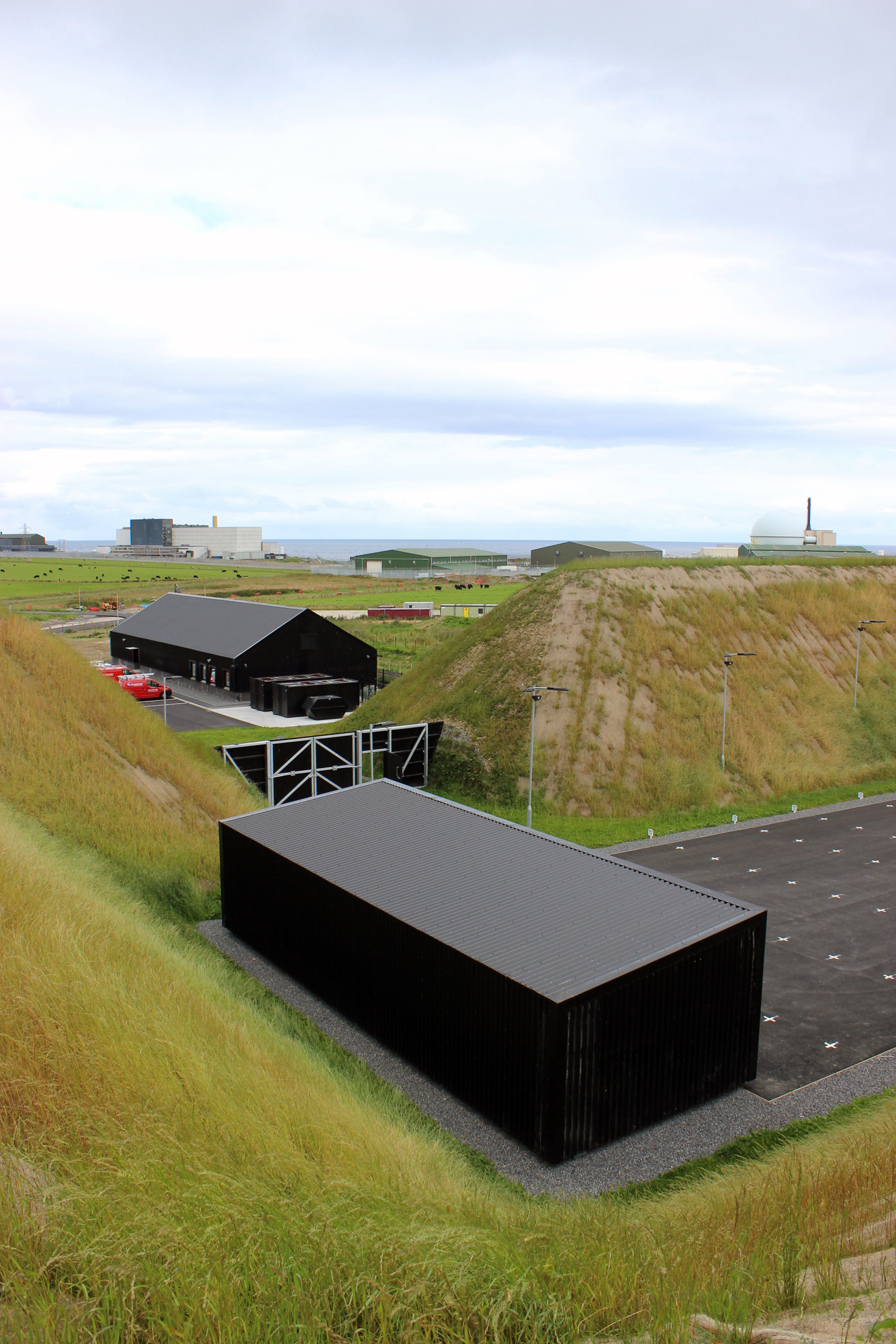 Firing Range and Support Building Dounreay