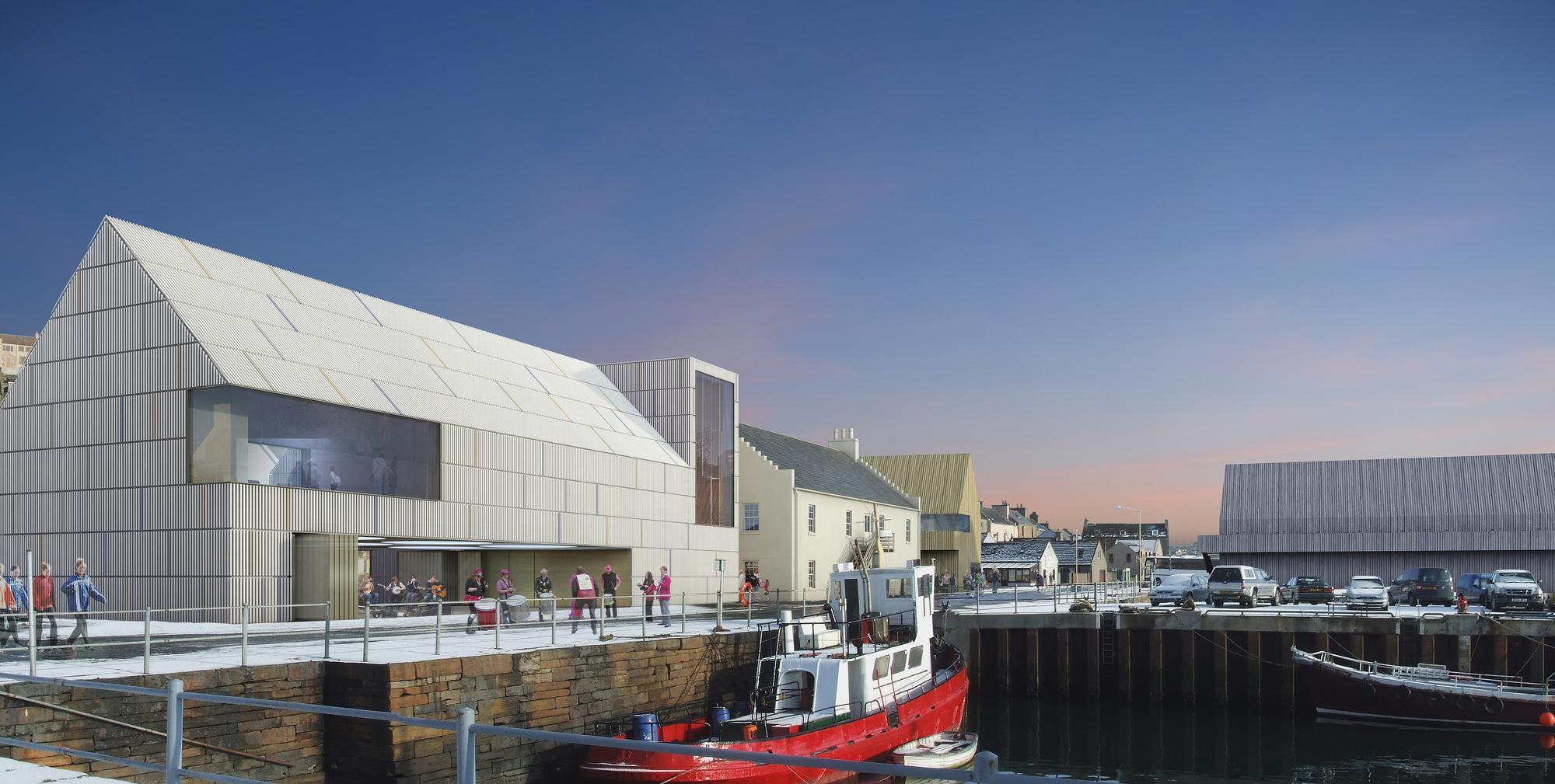 Pierhead Redevelopment Stromness Orkney