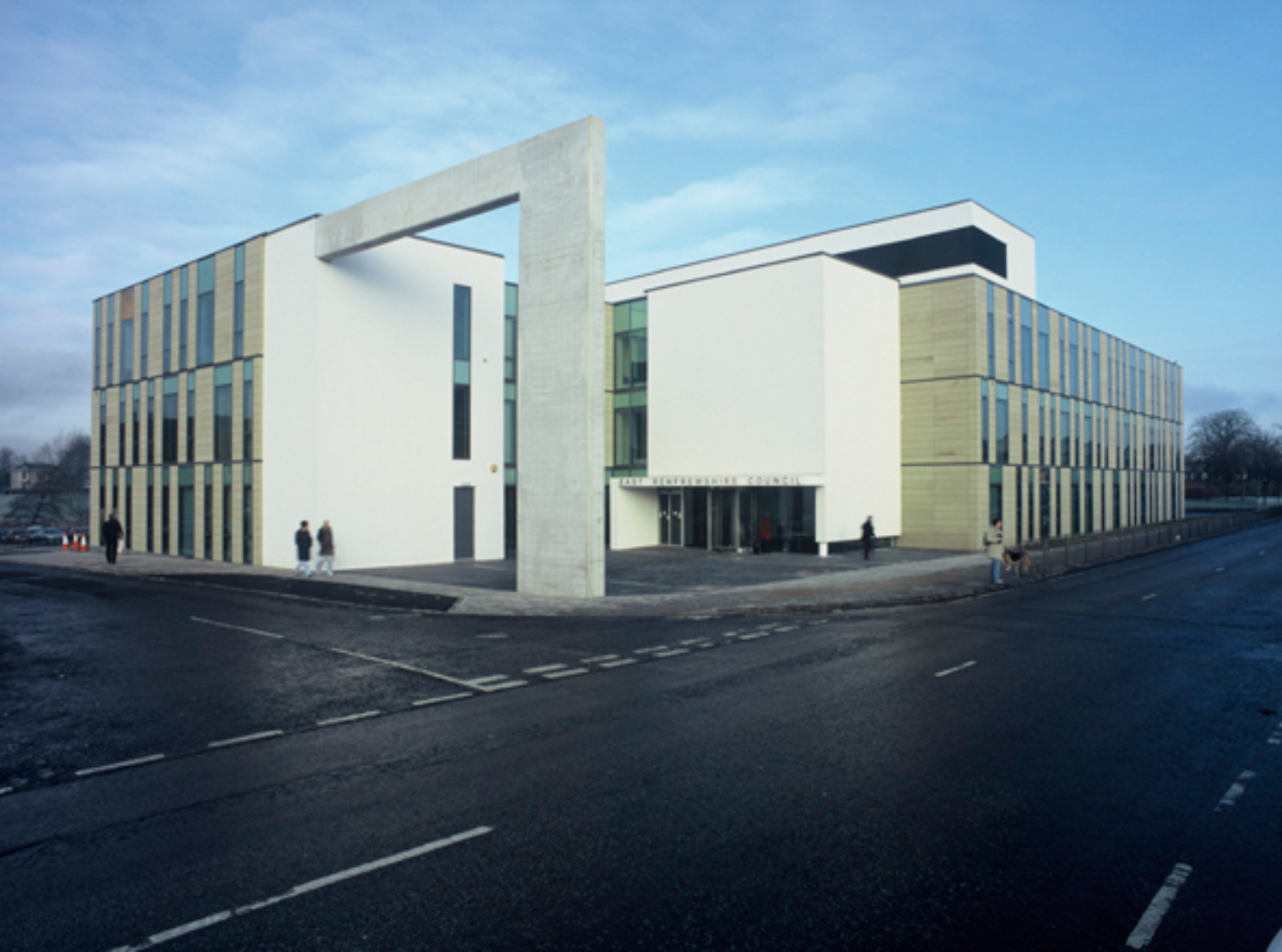East Renfrewshire Council Offices Barrhead