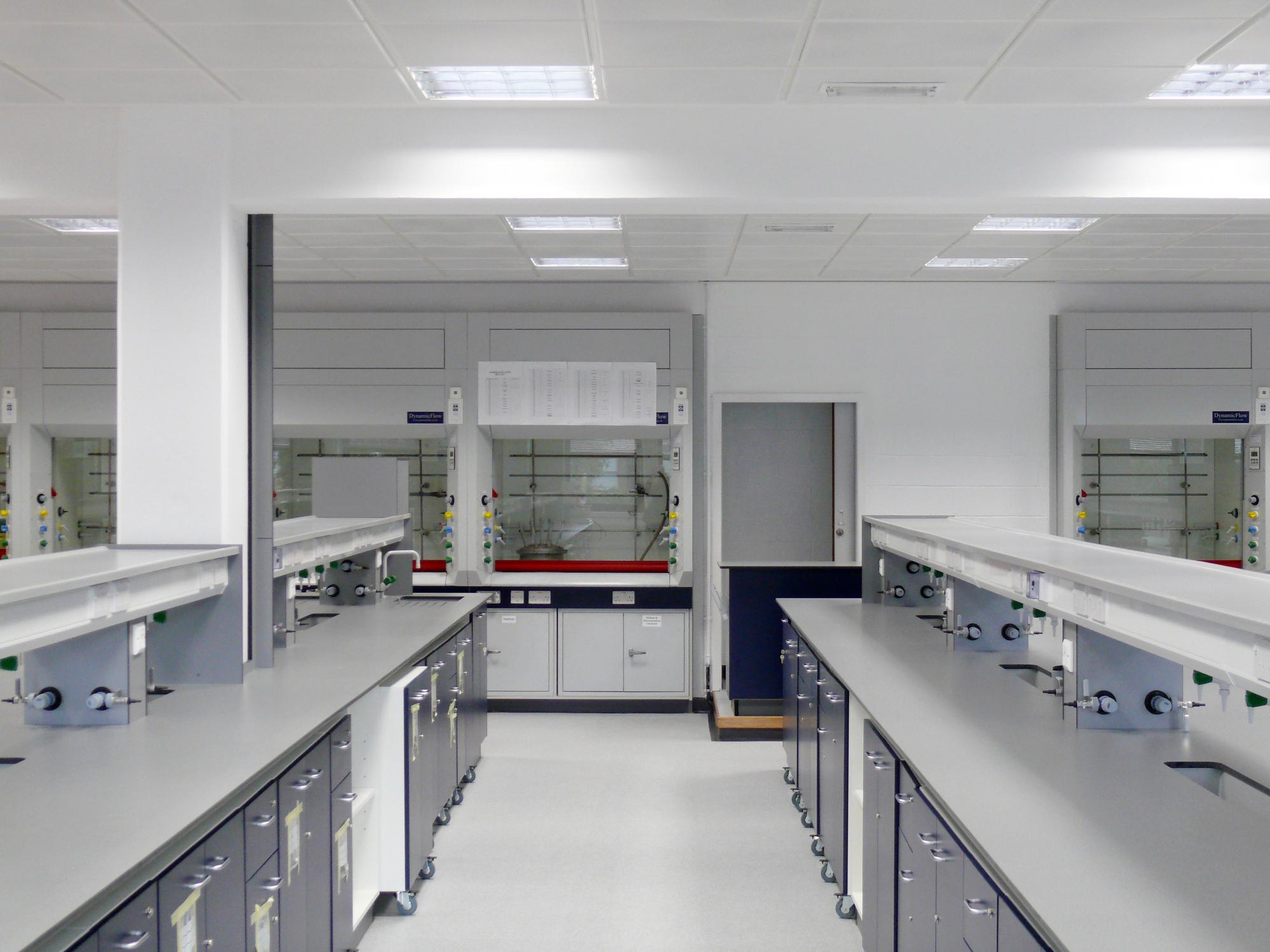 Chemistry Laboratory Refurbishment Edinburgh