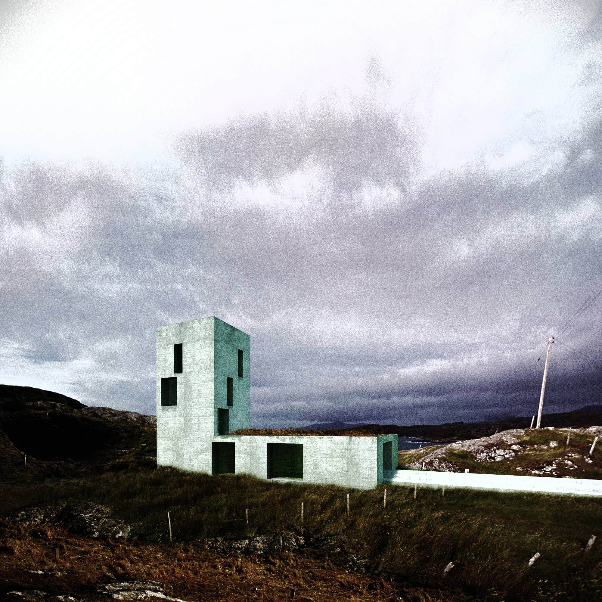 Island: Eight Houses for the Isle of Harris Outer Hebrides