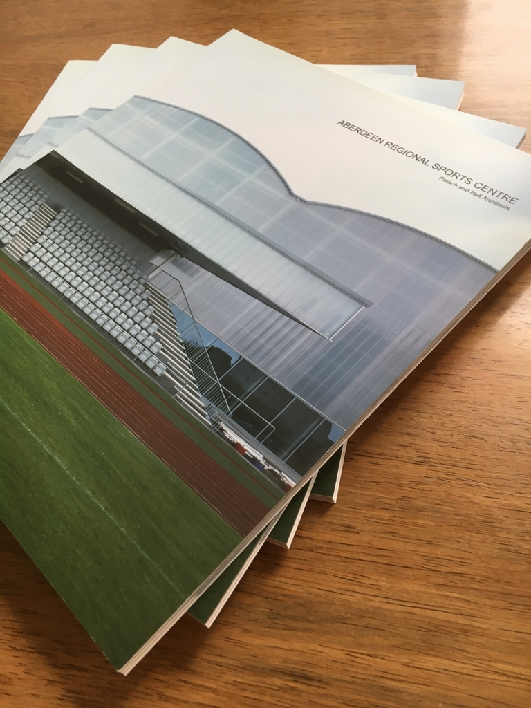 Aberdeen Regional Sports Centre Reiach and Hall Architects