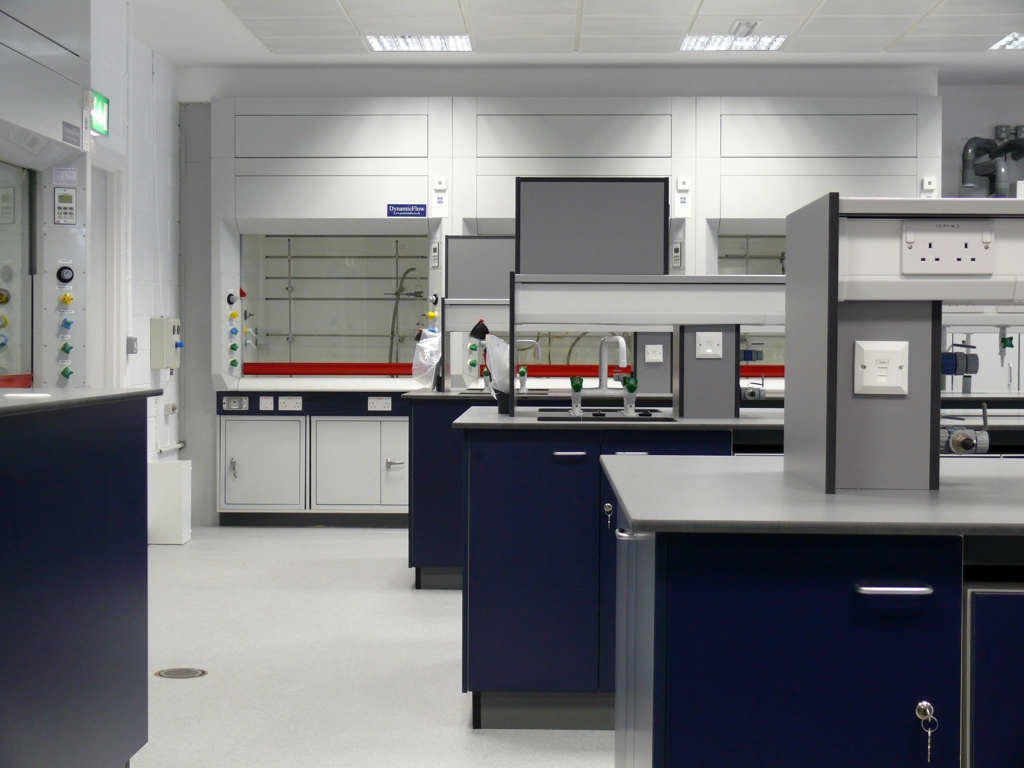Chemistry Laboratory Refurbishment Edinburgh
