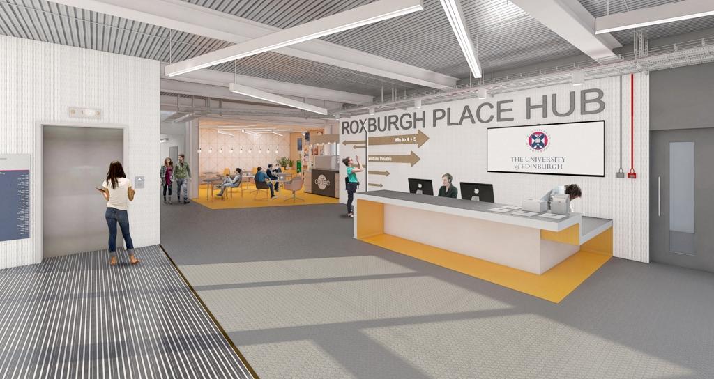 Roxburgh Place Edinburgh