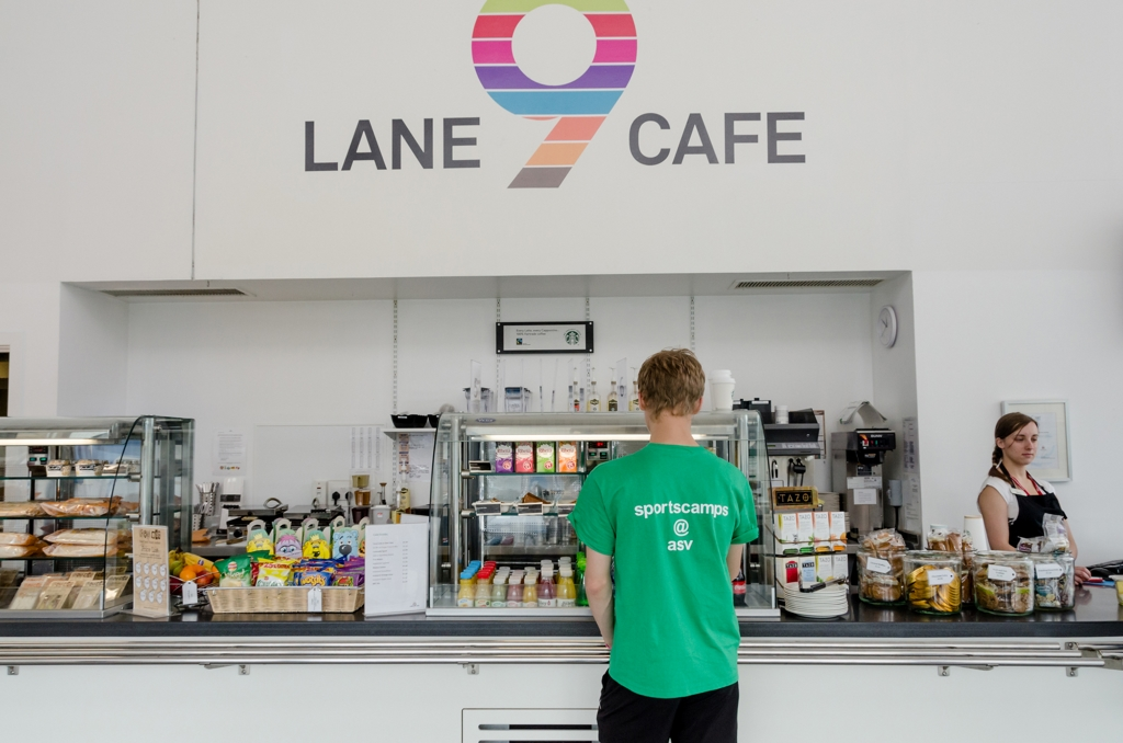 Lane 9 Café Aberdeen Sports Village