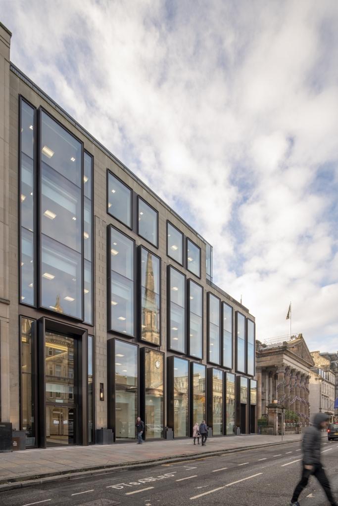 Refurbishment of 10 George Street Edinburgh