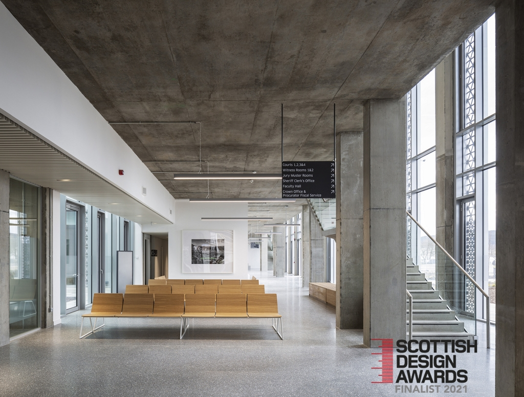 Scottish Design Award Finalist – Inverness Justice Centre